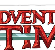 Adventure Time Logo Sticker