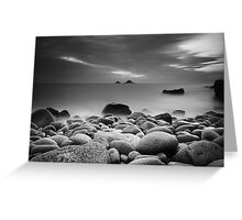 Porth Naven (Cot Valley Cove) Greeting Card