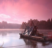 Dawn Raft, RIver Klarälven, Varmland, Sweden by Hydrophilous