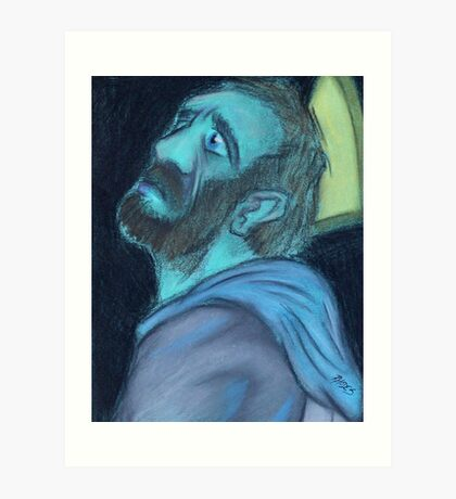 The Templar's Torment Art Print
