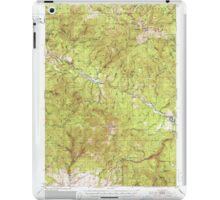 USGS Topo Map Oregon Bates 282240 1951 62500 iPad Case/Skin