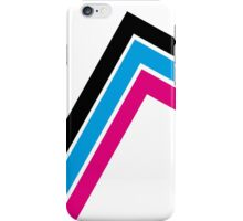 3 colored stripes iPhone Case/Skin