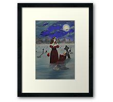 All American Vampire Framed Print