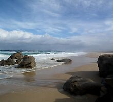 Redhead Beach rocks- Newcastle NSW Australia by Craig Stronner