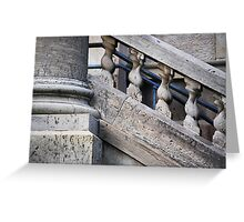 Pillar & Railing Greeting Card