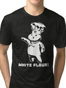 Doughboy White Flour Funny Tri-blend T-Shirt