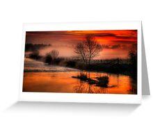 Eyebridge Mist 3 Greeting Card