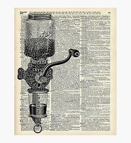 Vintage Coffee Grinder  Photographic Print