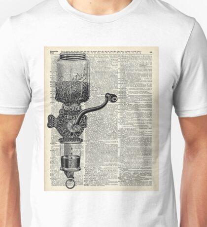 Vintage Coffee Grinder  Unisex T-Shirt