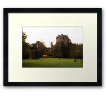 Blarney Castle in Autumn Framed Print