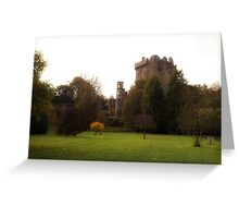 Blarney Castle in Autumn Greeting Card
