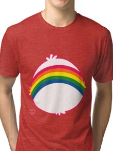 Rainbow CareBear Tri-blend T-Shirt