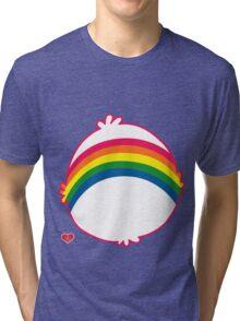 Rainbow CareBear Tri-blend T-Shirt