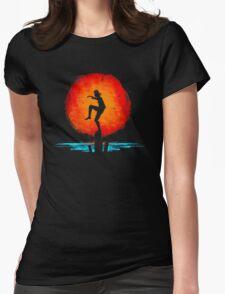 Minimal California Training Womens Fitted T-Shirt