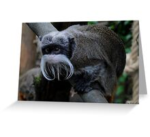 Saguinus Imperator (Emperor Tamarin Monkey) Greeting Card