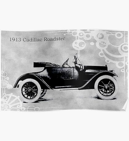 1913 Cadillac Roadster Poster