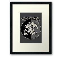 Militaires Sans Frontières Framed Print