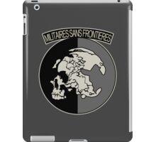 Militaires Sans Frontières iPad Case/Skin