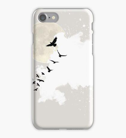 Minimal and zen bird design iPhone Case/Skin