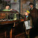 Kid - A visit to the candy store 1910 by Mike  Savad