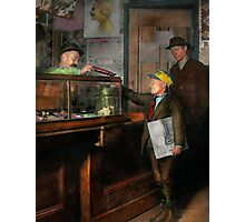 Kid - A visit to the candy store 1910 Photographic Print