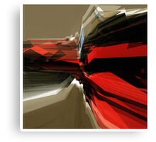 Digital Flow Canvas Print