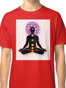 Meditation and Chakras Classic T-Shirt