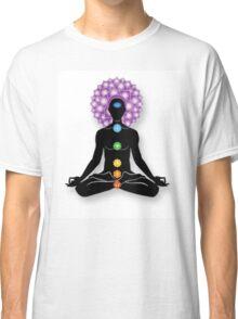 Meditation and Chakras Classic T-Shirt