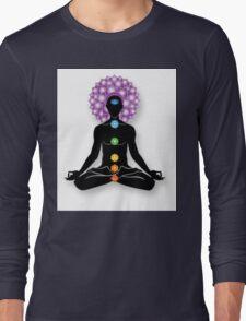 Meditation and Chakras Long Sleeve T-Shirt