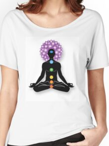 Meditation and Chakras Women's Relaxed Fit T-Shirt