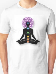 Meditation and Chakras T-Shirt