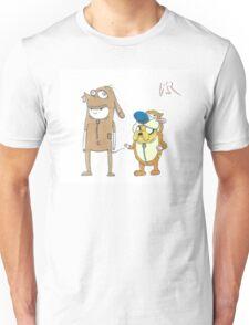 Finn and Jake Ren and Stimpy by WRTSTIK Unisex T-Shirt