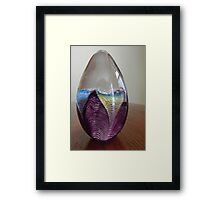 Paper Weight Framed Print