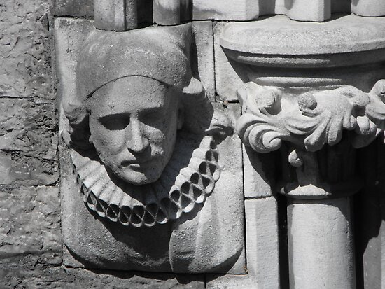 St. Patrick's Cathedral, Dublin, detail by aldfreckian