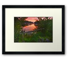 Drakespool- Cork ireland Framed Print