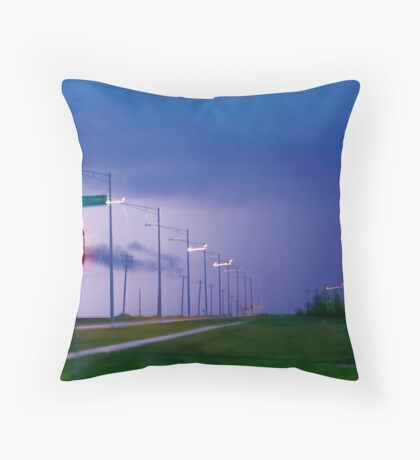 Storm Stop Throw Pillow