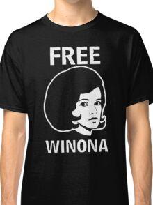FREE WINONA Ryder DEPP Classic T-Shirt