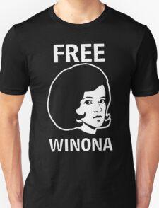 FREE WINONA Ryder DEPP T-Shirt