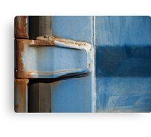 Rusty Hinge Canvas Print
