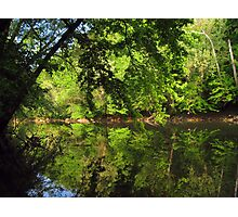 April on Green River Photographic Print