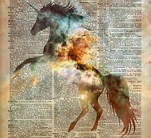 Unicorn Carina Nebula by DictionaryArt