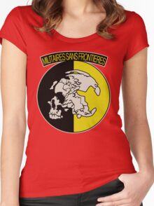 Militaires Sans Frontières Women's Fitted Scoop T-Shirt