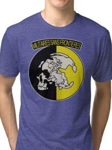 Militaires Sans Frontières Tri-blend T-Shirt