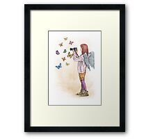 Photog Angel Framed Print