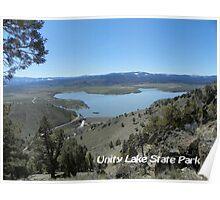 Unity Lake State Park - Oregon Poster