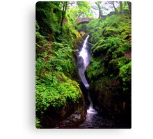 The fall of ullswater Canvas Print