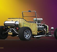 1927 Ford 'Bucket T' Roadster Pickup VS1 by DaveKoontz