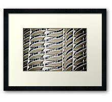 Condo Curves Framed Print