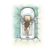 Angel Clean Heart Photographic Print