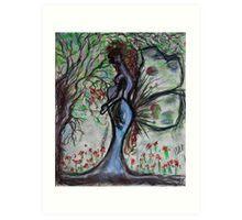 Mother Earth Gaia Art Print